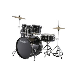 Ludwig Ludwig Accent Fuse 5pc Black Drum Set