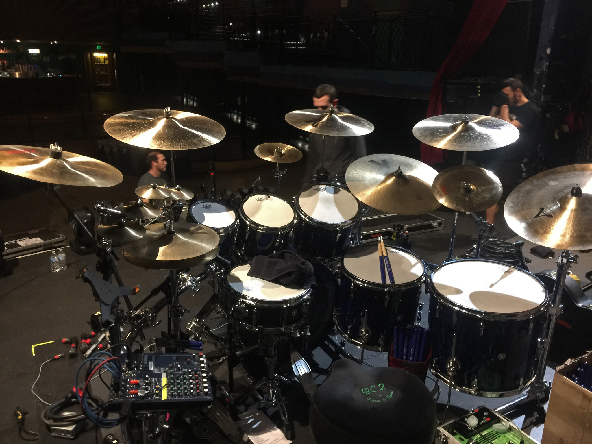 Gavin Harrison Gear Rundown