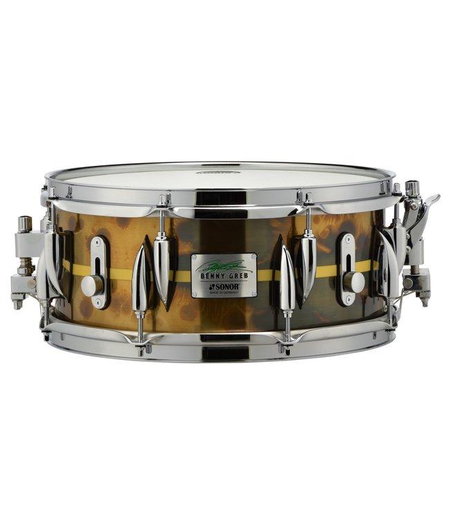 "Sonor Sonor Benny Greb 13 x 5.75"" Brass Snare Drum"