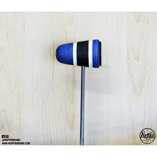 Low Boy Low Boy Leather Daddy, Blue/Black/Blue with White Stripes