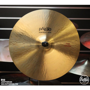 "Paiste Used Paiste Formula 602 16"" Thin Crash"