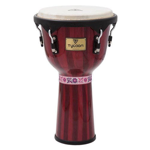 "TYCOON Tycoon Artist Series Hand-Painted 12"" Djembe"