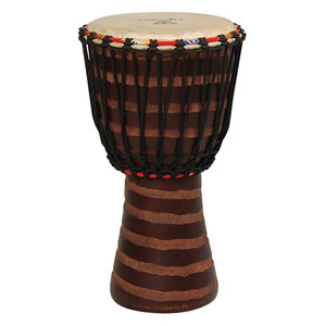 TYCOON Tycoon Hand-Carved African Djembe