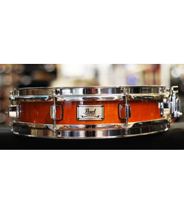 "Pearl Used Pearl 3x13"" Maple Piccolo Snare Drum Amber"