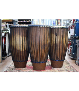Used African Congas Made in Guinea - Quinto, Conga, Tumbadora