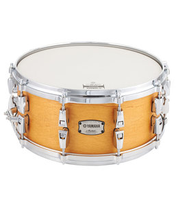 "Yamaha Yamaha 6x14"" Absolute Hybrid Maple Snare Vintage Natural"