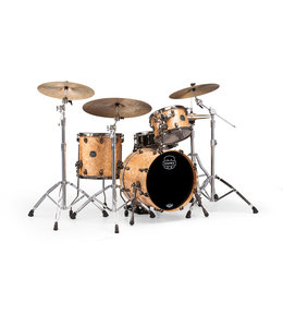 Mapex Saturn V MH Exotic Jazz 3 Piece Shell Pack  w/o Snare Natural Maple Burl