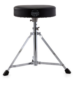 Mapex Mapex Black Vinyl Cushion Round Drum Throne