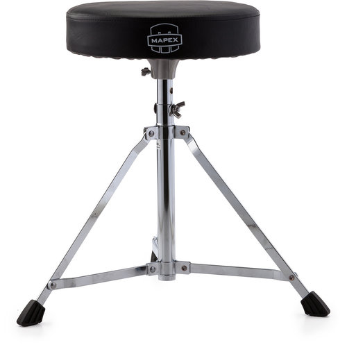 Mapex Mapex Black Vinyl Cushion Round Drum Throne