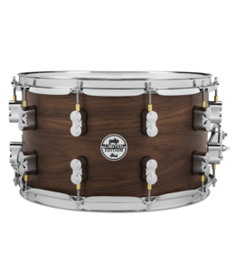 PDP PDP Limited Edition Natural Satin 20-Ply Maple/Walnut Hybrid Snare Drum