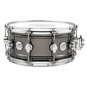 "DW DW Design Series 6.5X14"" Black Nickel Brass Chrome Snare Drum"
