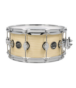 """DW DW Performance Series Natural 6.5 x 14"""" Snare Drum"""