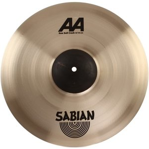 "Sabian Sabian 16"" AA Raw Bell Crash Brilliant Finish"