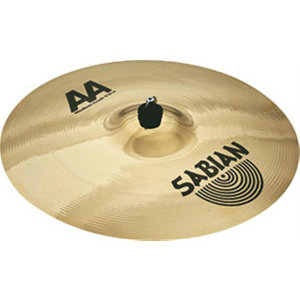 "Sabian Sabian 16"" AA Medium Crash Brilliant Finish"
