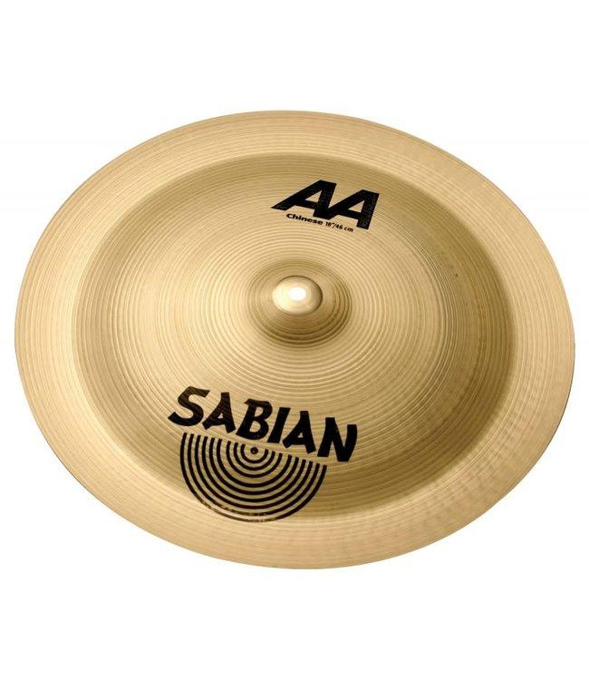 "Sabian Sabian 18"" AA Chinese Brilliant Finish"