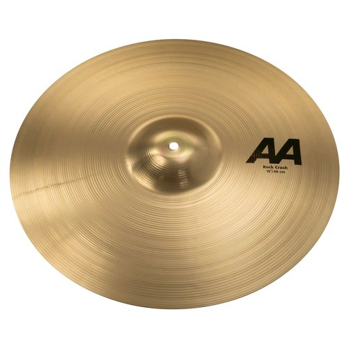 "Sabian Sabian 19"" AA Rock Crash Brilliant Finish"