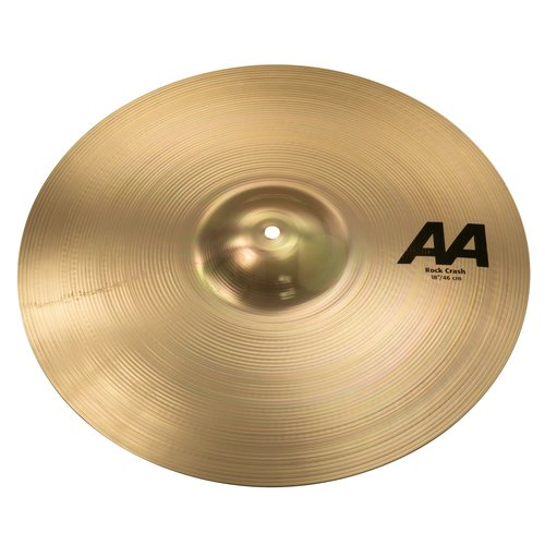"Sabian Sabian 18"" AA Rock Crash Brilliant Finish"