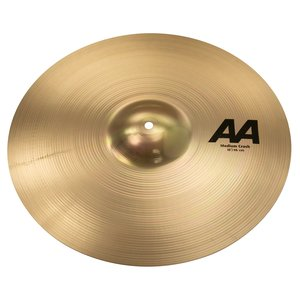 "Sabian Sabian 18"" AA Medium Crash Brilliant Finish"