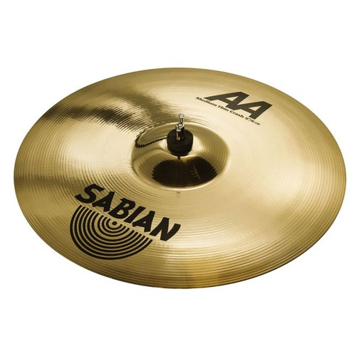"Sabian Sabian 18"" AA Medium Thin Crash Brilliant Finish"