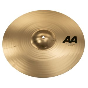 "Sabian Sabian 18"" AA Raw Bell Crash Brilliant Finish"