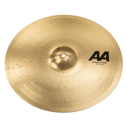 "Sabian Sabian 16"" AA El Sabor Crash Brilliant Finish"