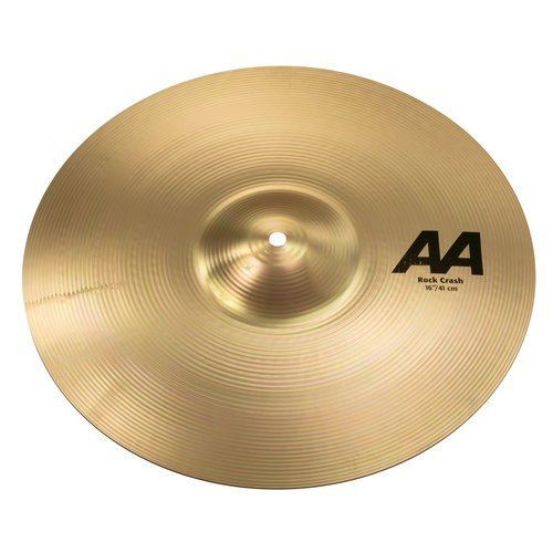 "Sabian Sabian 16"" AA Rock Crash Brilliant Finish"
