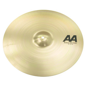 "Sabian Sabian 16"" AA Medium Thin Crash Brilliant Finish"