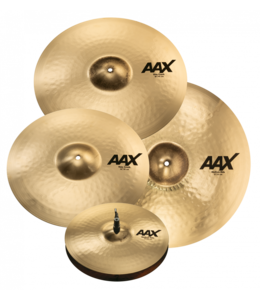 Sabian Sabian AAX Promotional Set Brilliant Finish