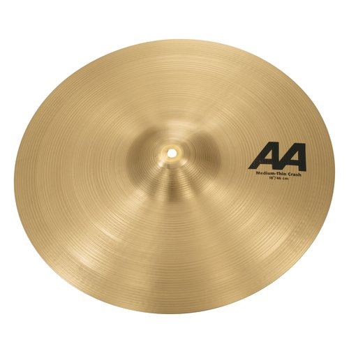 "Sabian Sabian 18"" AA Medium Thin Crash"
