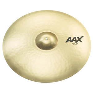 "Sabian Sabian 22"" AAX Heavy Ride Brilliant Finish"