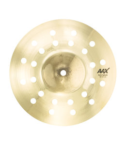 "Sabian Sabian 10"" AAX Aero Splash Brilliant Finish"