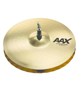 "Sabian Sabian 13"" AAX X-Celerator Hi-Hats Brilliant Finish"