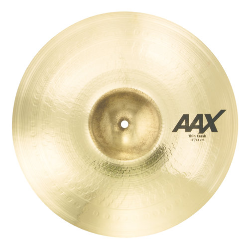 "Sabian Sabian 17"" AAX Thin Crash Brilliant Finish"
