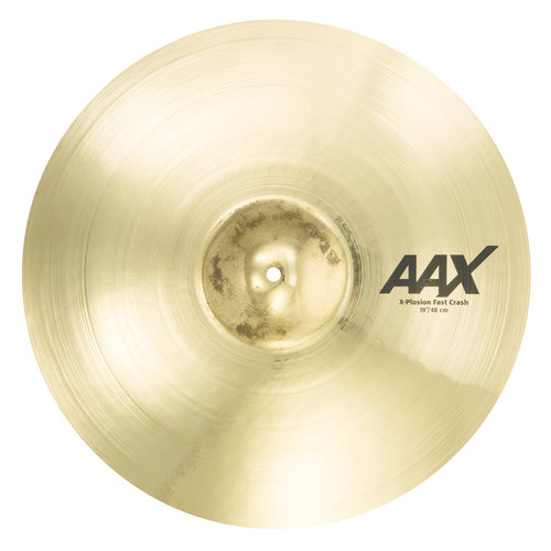 "Sabian Sabian 19"" AAX X-Plosion Fast Crash Brilliant Finish"
