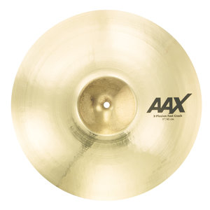 "Sabian Sabian 17"" AAX X-Plosion Fast Crash Brilliant Finish"