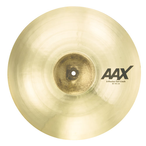 "Sabian Sabian 18"" AAX X-Plosion Fast Crash Brilliant Finish"