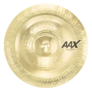 "Sabian Sabian 19"" AAX X-Treme Chinese Brilliant Finish"