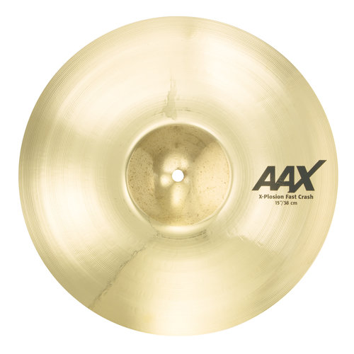 "Sabian Sabian 15"" AAX X-Plosion Fast Crash Brilliant Finish"