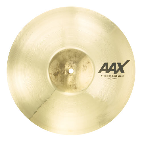 "Sabian Sabian 14"" AAX X-Plosion Fast Crash Brilliant Finish"