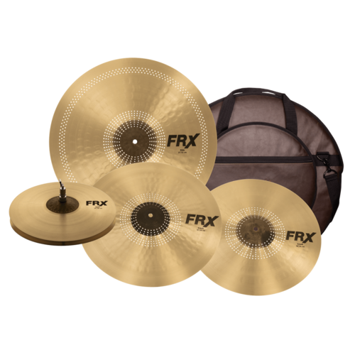 Sabian Sabian FRX 4 Piece Cymbal Performance Set w/ FREE Cymbal bag