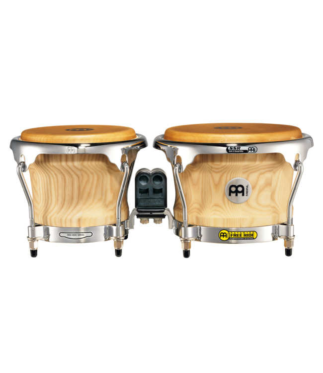 "Meinl Meinl Collection Series Wood 7"" & 8 1/2"" Bongos American White Ash"