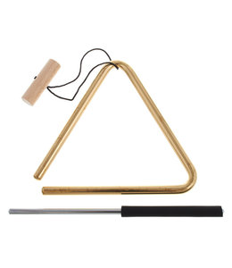 Meinl Meinl 6'' Solid Brass Triangle