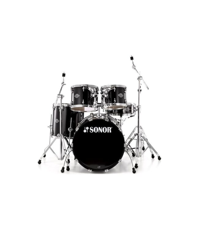 Sonor Sonor Select Force 5pc Studio Shellpack - Piano Black
