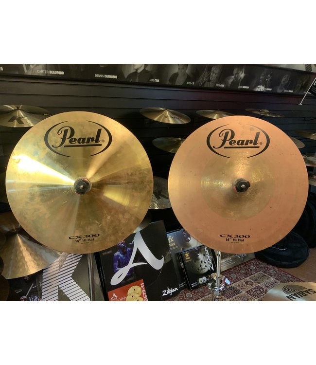 "Pearl Used Pearl CX-300 14"" Hi Hats"