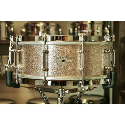 Doc Sweeney Doc Sweeney Vintage Champagne 5.5x14 Steam-Bent Shedua Snare Drum