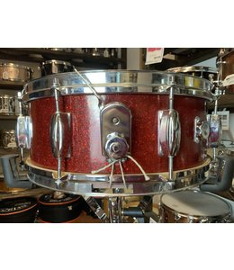 Used MIJ Red Sparkle Snare Drum