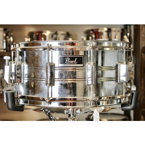 "Pearl Used Pearl Export Steel 6.5x14"" Snare Drum"