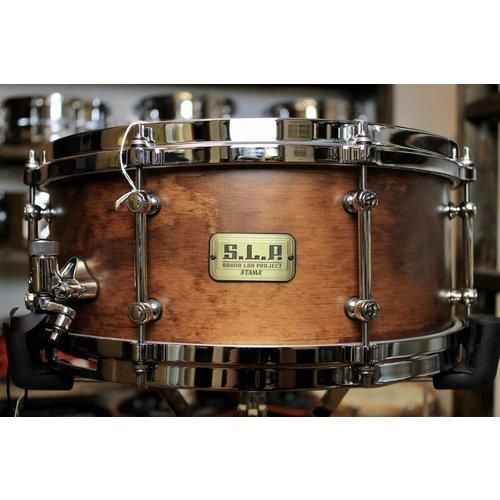 "Tama Tama S.L.P. Fat Spruce 6 x 14"" Snare Drum"