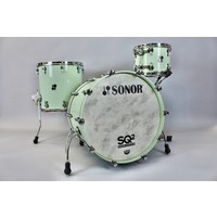 Sonor SQ2 3pc Vintage Maple Shellpack - Pastel Green