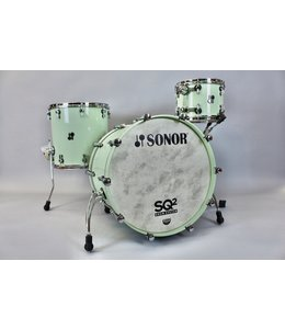 Sonor Sonor SQ2 3pc Vintage Maple Shellpack - Pastel Green